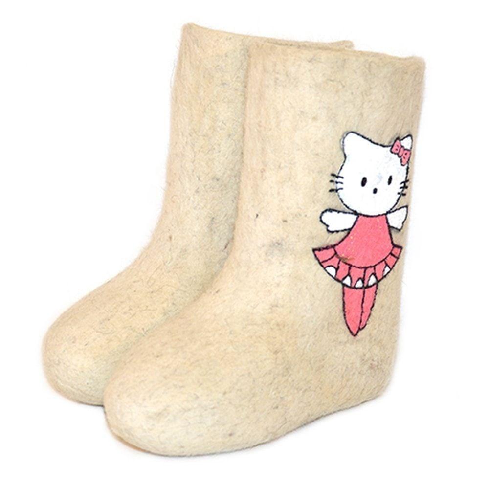 "Валенки детские ""Hello Kitty"" (0100А)"
