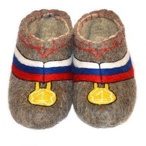 "Тапочки мужские ""Медаль"" (Т003Н)"