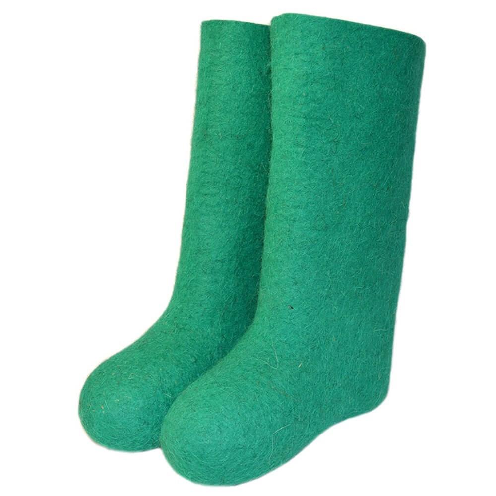 Валенки мужские зеленые (800)