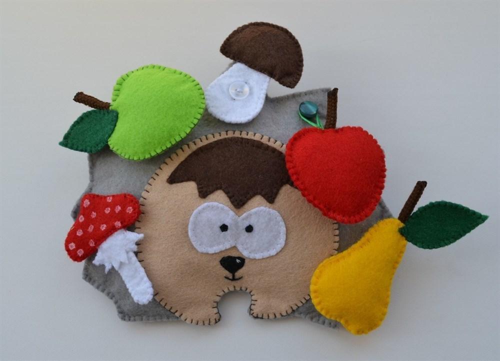 Развивающие игрушки из фетра(РИФ01)