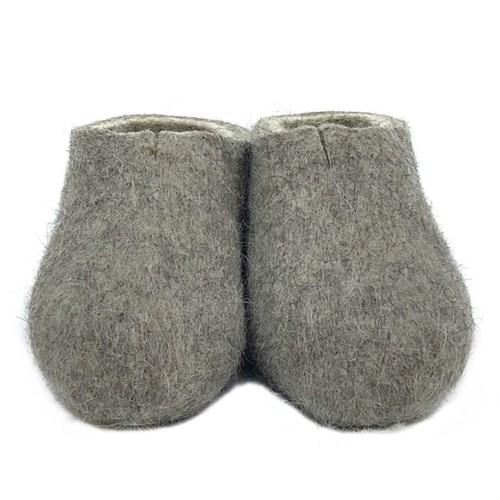 Тапочки мужские серые (Т01м) - фото 10026
