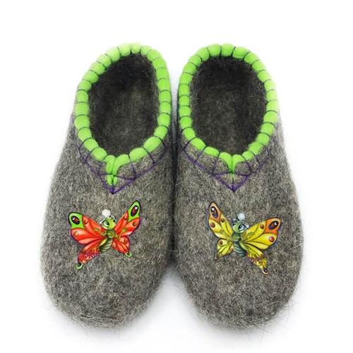 """Тапочки женские """"Бабочки"""" (Т397) - фото 12753"""