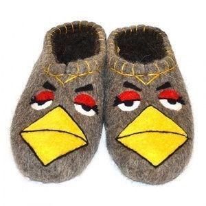 "Тапочки мужские ""Angry Birds2"" (Т009Н)"