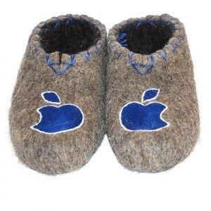 """Тапочки мужские """"Apple"""" (Т007Н) - фото 4568"""