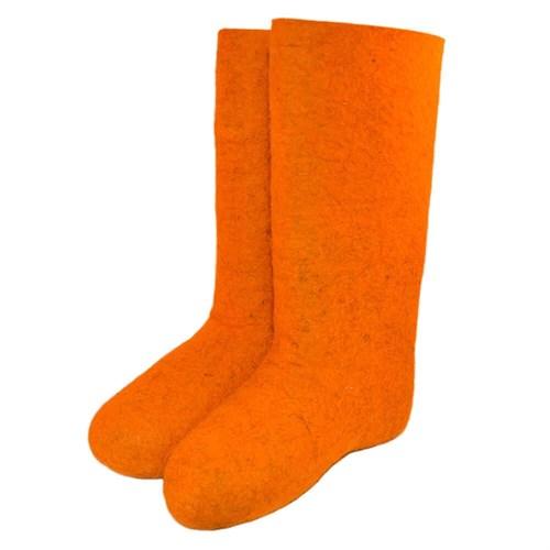 Валенки женские оранжевые (700ж)