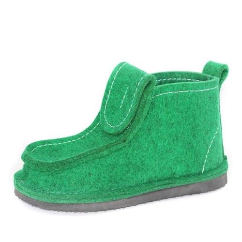 Валеши на подошве ЭВА светло-зеленые (ВШ27)