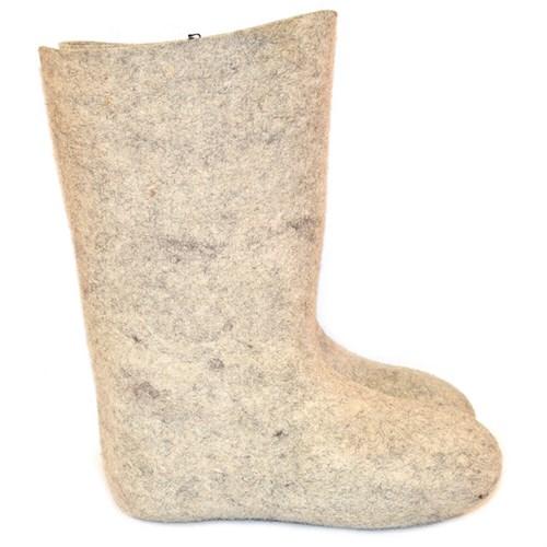 Валенки мужские серые фабричные (200-2м)