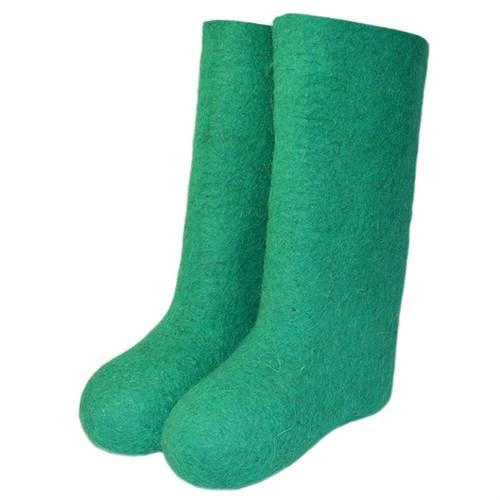 Валенки женские зеленые (800ж)