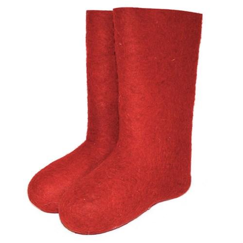 Валенки детские красные (400д)