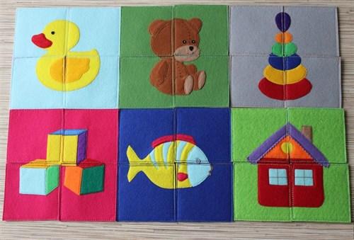 Развивающие игрушки из фетра(РИФ03) - фото 8736