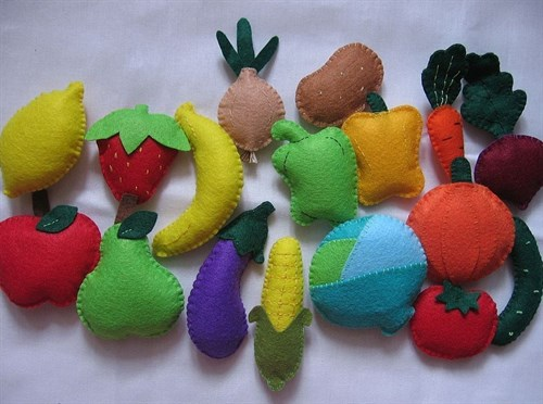Развивающие  игрушки из фетра(РИФ05) - фото 8738