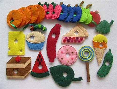Развивающие игрушки из фетра(РИФ08) - фото 8741