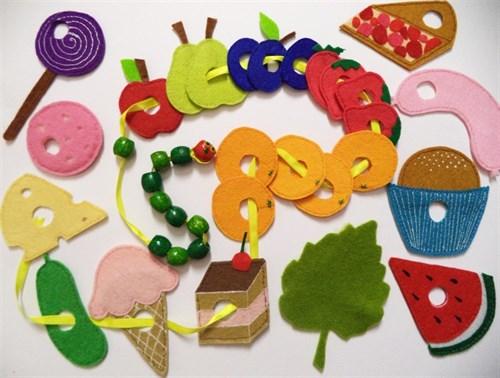 Развивающие игрушки из фетра(РИФ09)