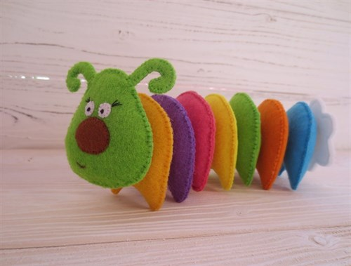 Развивающие игрушки из фетра(РИФ10)