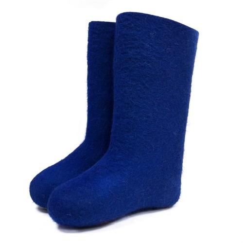 Валенки женские синие - фото 9526