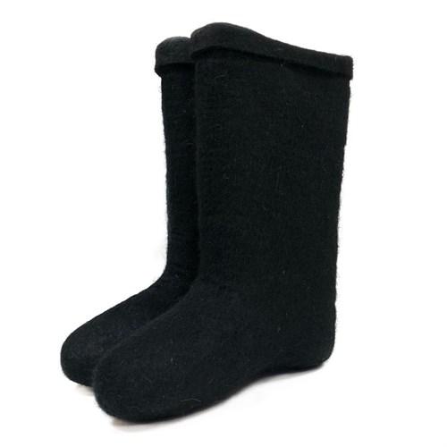 Валенки мужские черные крашенные - фото 9639