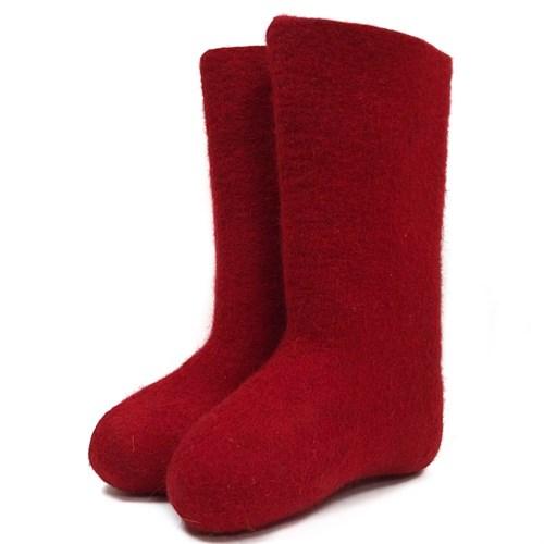 Валенки женские красные (400Ж) - фото 9647