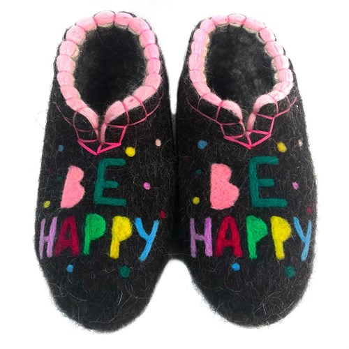 """Тапочки женские """"Be Happy"""" (Т121Н) - фото 9954"""
