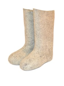 Валенки женские серые фабричные (200-2ж)