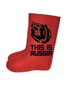 "Валенки мужские ""This is Russia"" (421А)"
